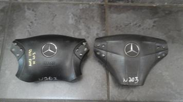 MERCEDES BENZ STEERING AIRBAGS FOR SALE