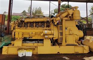 MWM TD602-V12 610 450kVA generator with alternator for sale!