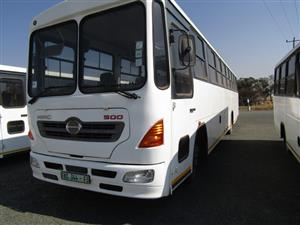 Hino 66 Seater Bus - ON AUCTION