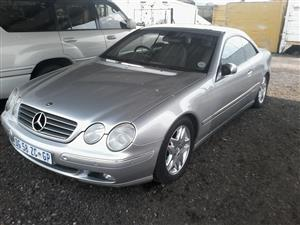 2001 Mercedes Benz CL 500