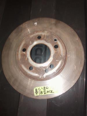 We Have A Mercedes Benz C180 Brake Disc For Sale