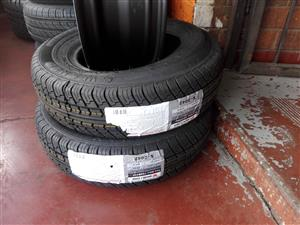 Size 12 tyres 155/12 new tyres