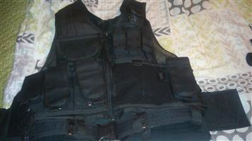 Full bullet proof vest with cavalon , plates and battle Jackey