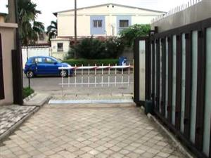 Gate motor security
