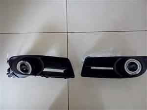 TOYOTA RUNX FACELIFT 05/08 BRAND NEW PROJECT TYPE ANGLE EYE FOG LIGHT KIT FORSALE PRICE:R895