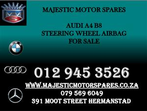 AUDI A4 B8 STEERING WHEEL AIRBAG FOR SALE