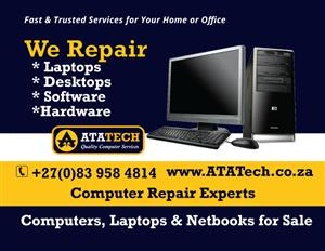 Laptop broken  screen Replace / chargers /keyboard / power cable