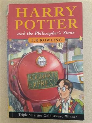 Harry Potter And The Philosopher's Stone - J K Rowling - Book 1 - REF: 2278.