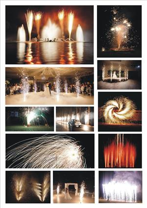WEDDING FIREWORKS EFFECTS