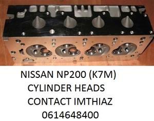 NISSAN NP200  (K7M) CYLINDER HEADS (BRAND NEW)
