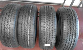 265/70/16 general grabber 4x new tyres for your bakkie or suv r5750