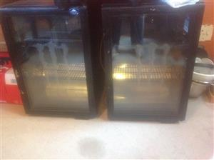 Bar Fridges x 2 = R2,500.00 each