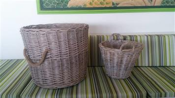 Big and small baskets for sale