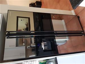 Two Door fridge glass