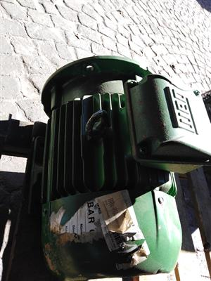 7.5 kw 400v 3 phase electrical motor