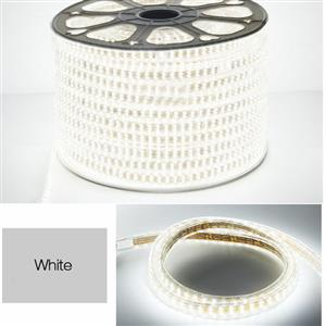LED Strip Light / Rope Light: 100metres Roll 220Volts Cool White Colour.