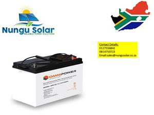 120ah Omnipower Solar  Battery