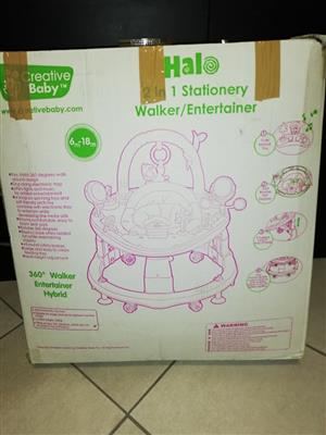 Halo stationary walker