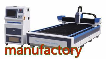 Metal cutting machine--1200w new fiber laser machine-heavy duty design