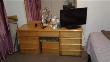 Light wooden dresser for sale