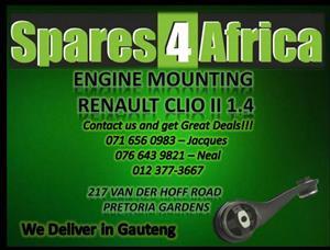 Engine Mounting Renault Clio II 1.4