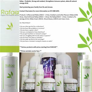 Representatives for Rafaa, Mineral Magnesium and many more products.