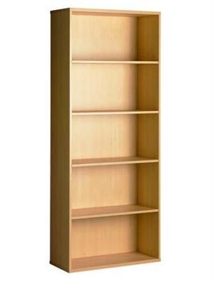 Oak 5-Tier USED Bookcase Cabinet