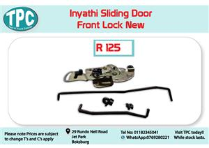 Inyathi Sliding Door Front Lock for Sale at TPC