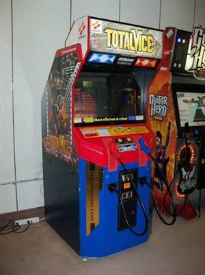 Total Vice Gun Amusement Shooting Game, coin operated