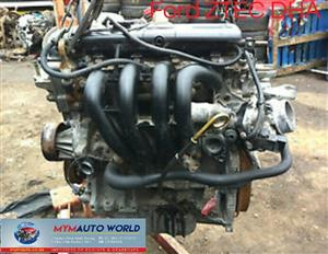 Imported used FORD ZETEC SE-SEFI 1.25L, ZTEC DHA, Complete second hand used engine