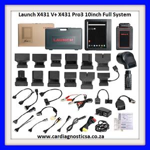 Launch X431 V+ Pro3 10inch Wifi Bluetooth Full System Diagnostic Tool Update Online Two Year for Free