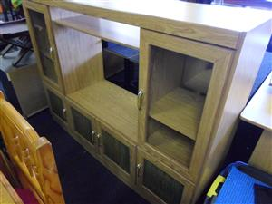 Wooden TV Cabinet.