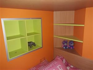 2 x 3/4 Bunk beds for sale R1500 each or R2800 for both