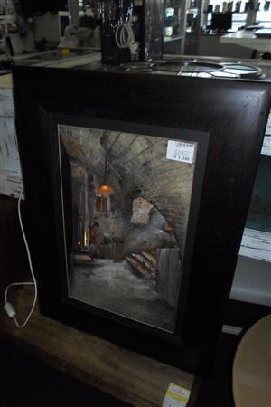 Wooden Framed Wall Art