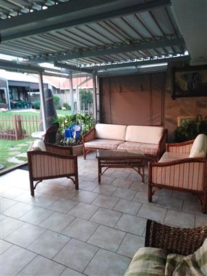 6 seater cane furniture for sale