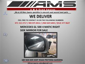 MERCEDES GL500 4MATIC RIGHT MIRROR