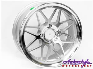 14 inch CL 46 4 100 Silver Alloy Wheels