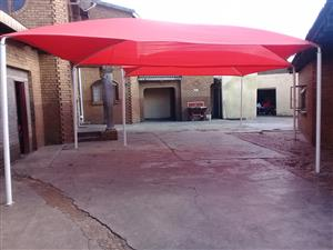 Shadeport, Carport, Awnings, Nets, Restitch, Structure upgrades etc