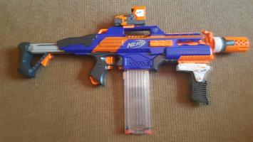 NERF RapidStrike CS-18 with NERF Stealth Ops Upgrade Kit Toy Gun