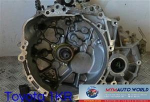 Imported used TOYOTA 1KR MANUAL gearbox Complete