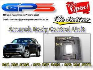 VW Amarok Body Control Unit Used Part for Sale