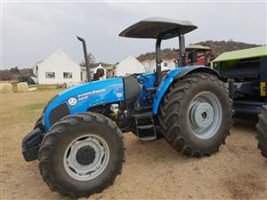 Blue Landini Globalfarm 105   4x4 Pre-Owned Tractor