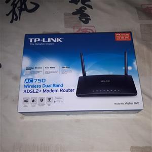 ADSL + FIBRE ROUTER FOR SALE