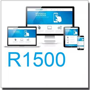 Johannesburg - Web design from R 1500 for 5 pages