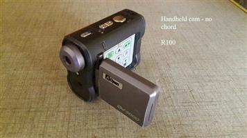 Handheld cam no chord