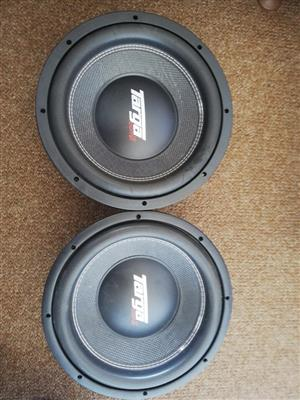 Targa competition woofers