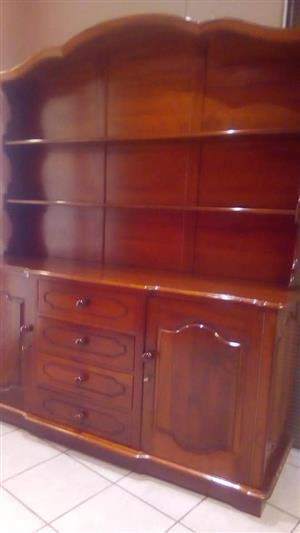 Solid Imbuia Cabinet