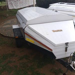 venter 5foot trailer with nose cone