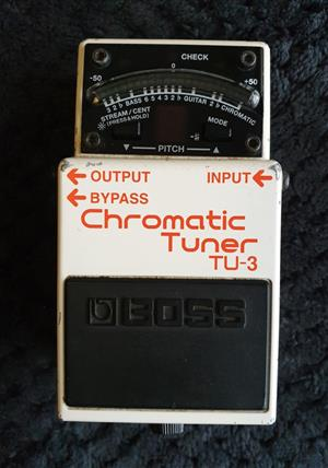 Boss TU-3 Tuner Guitar Effects Pedal