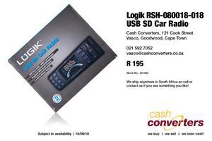 Logik Rsh 080018 018 Usb Sd Car Radio Junk Mail